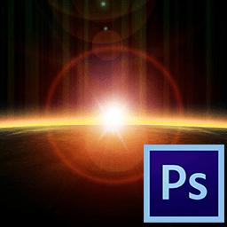 Как сделать блик в фотошопе