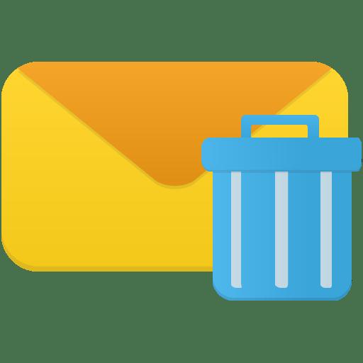 Логотип Как удалить удаленные письма