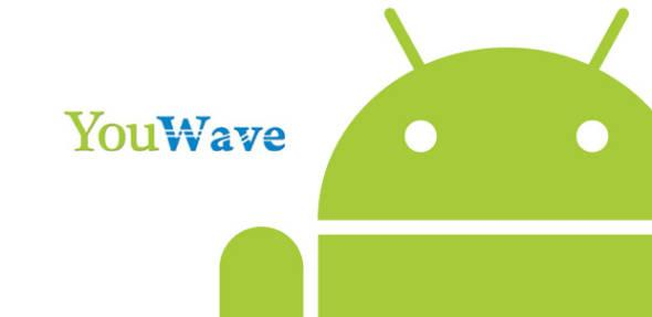 Логотип аналога BlueStacks программы  YouWave
