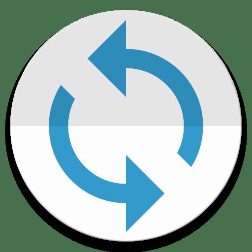 Логотип долгая синхронизация