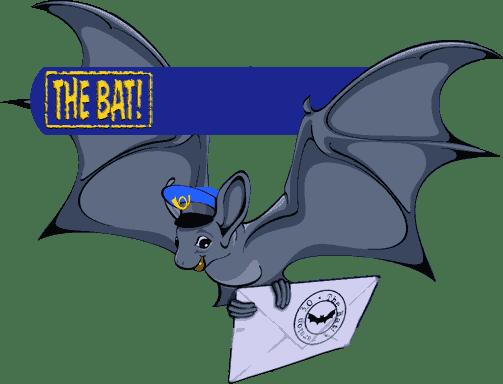 The bat logo