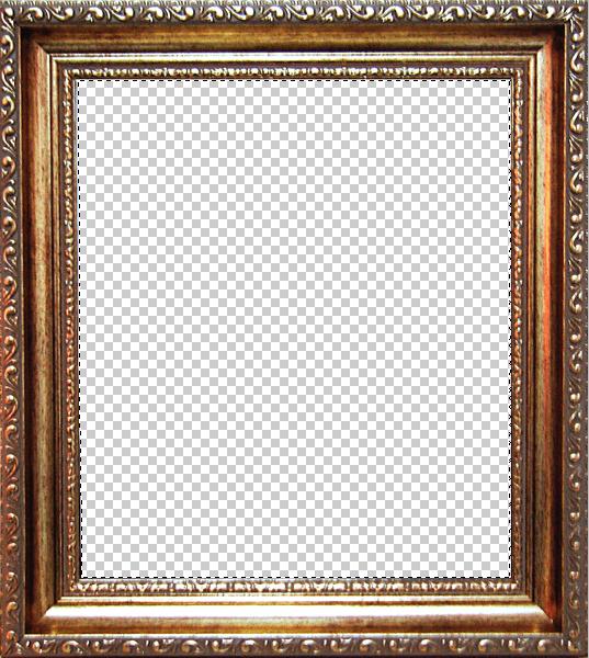 Удаление фона с рамки в Фотошопе (4)