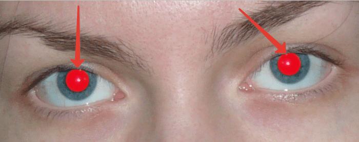 Удаляем красные глаза способ 1 (3)