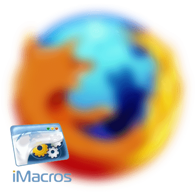 iMacros для Firefox