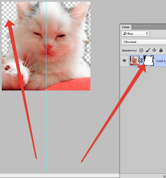 Как пользоваться слоем маской в Фотошопе