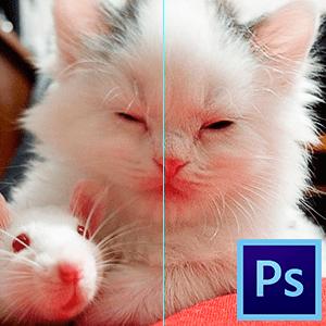 Как увеличить резкость в Фотошопе (2)