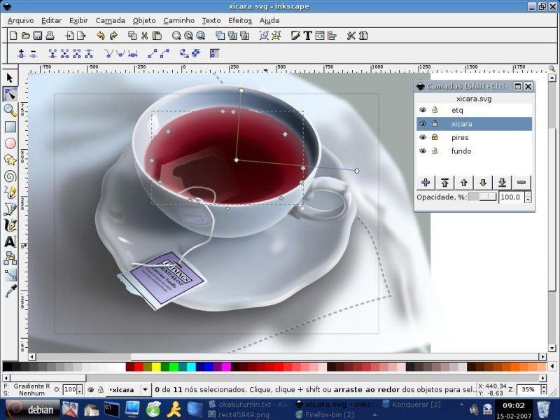 Бесплатные программы для иллюстраторов Inkscape