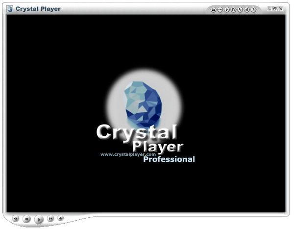Главное меню в CrystalPlayer