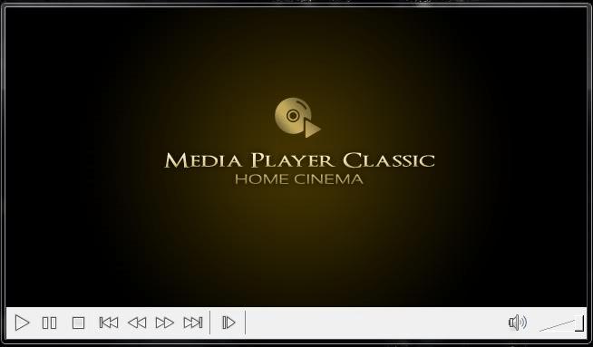 Главное меню в Media Player Classic