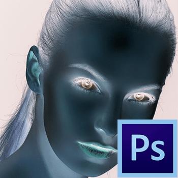 Как сделать инверсию в Фотошопе