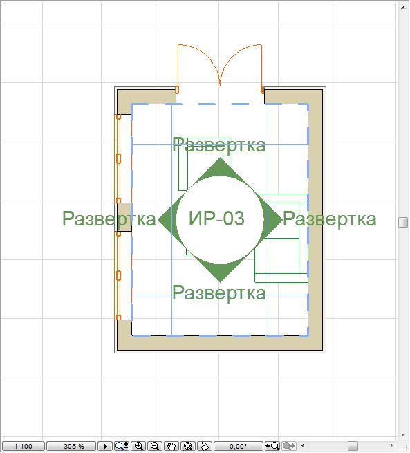 Как создать развертку в Archicad 3