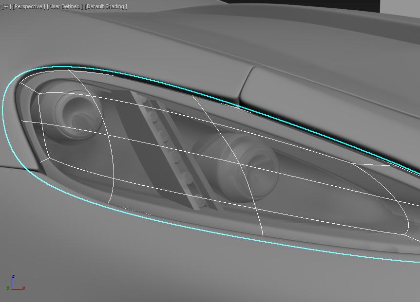 Моделирование автомобиля 10
