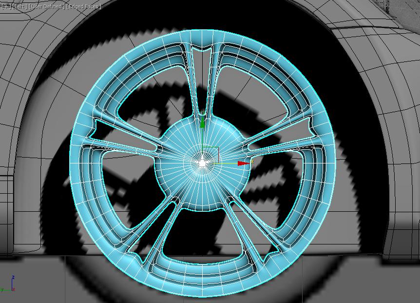 Моделирование автомобиля 12