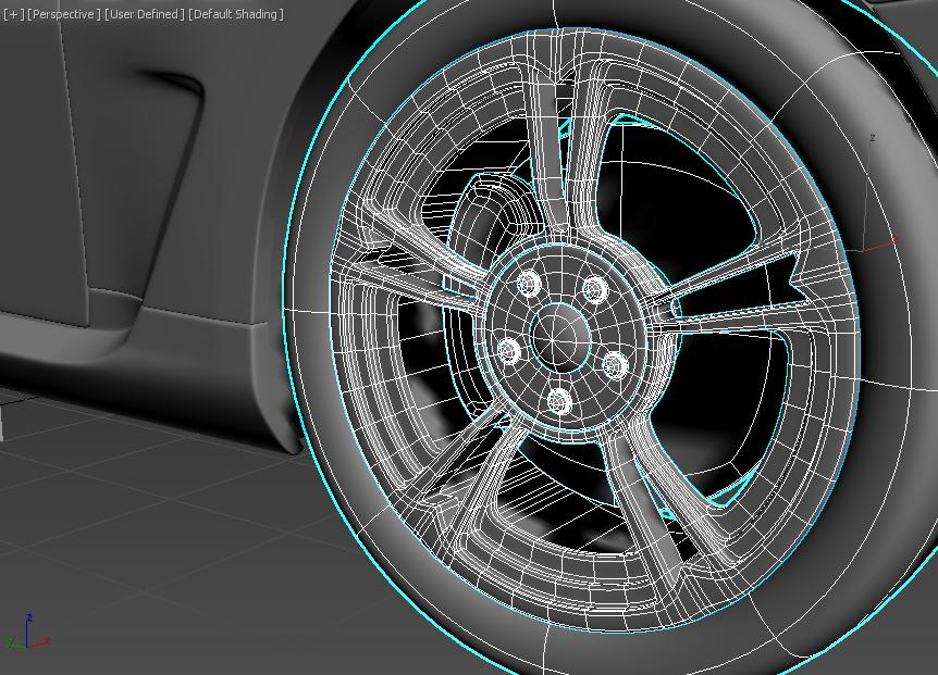 Моделирование автомобиля 13
