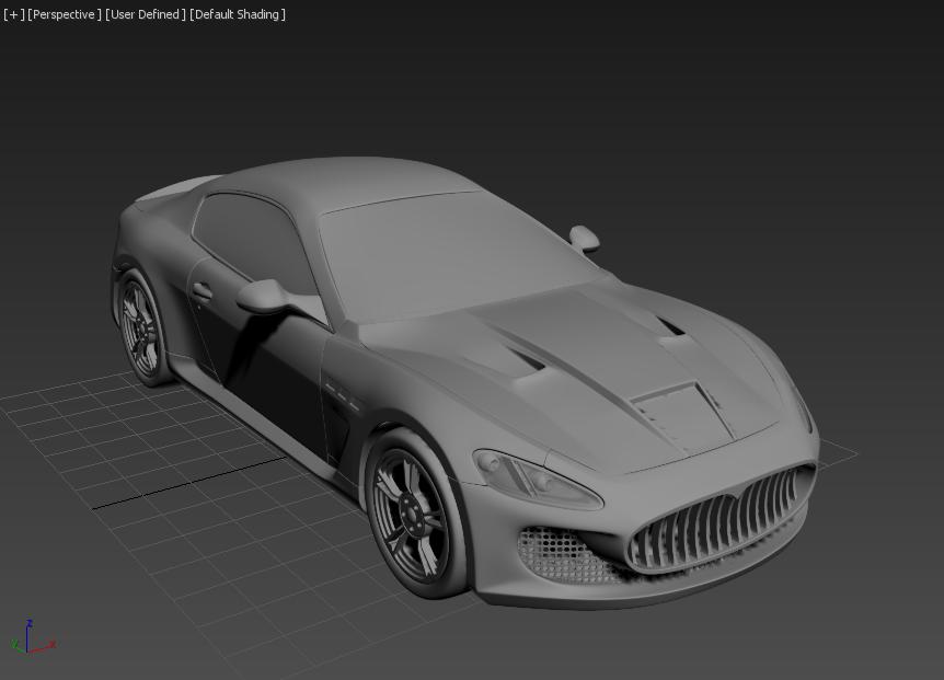 Моделирование автомобиля 14