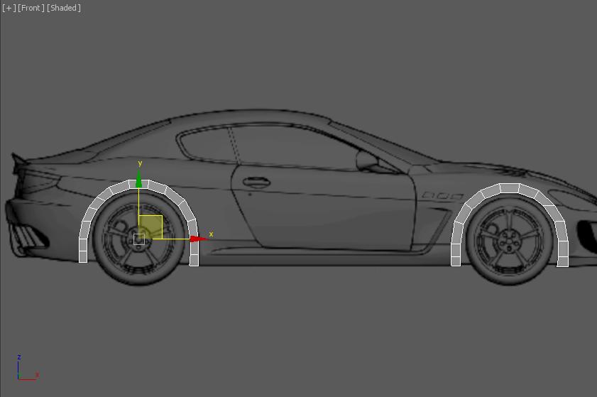 Моделирование автомобиля 2