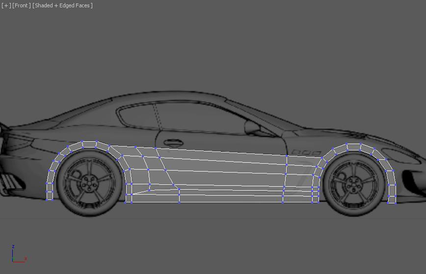 Моделирование автомобиля 3