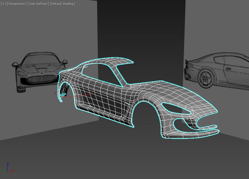 Моделирование автомобиля 5