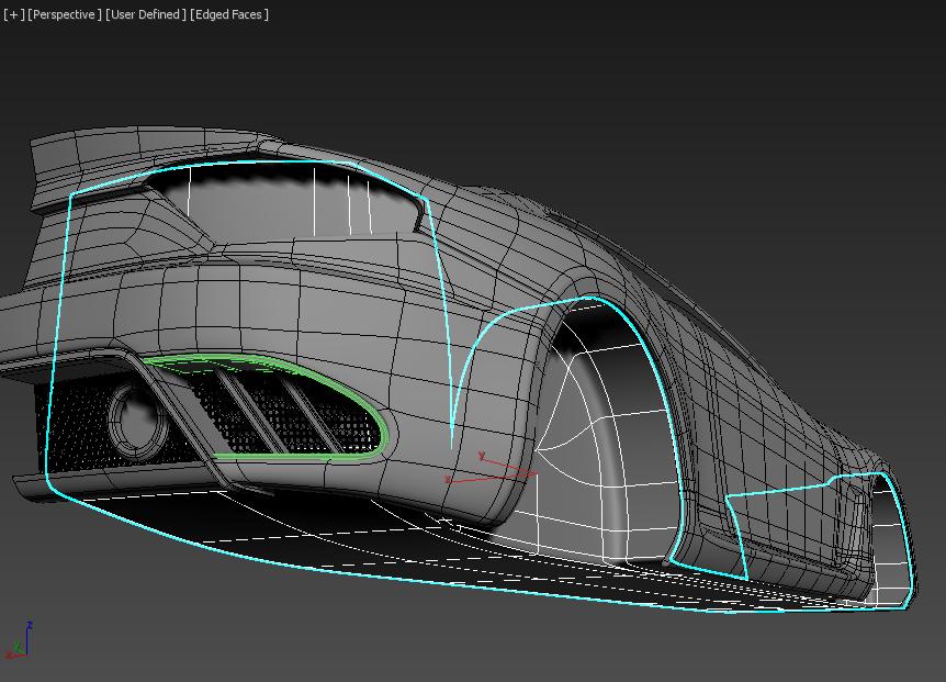 Моделирование автомобиля 7