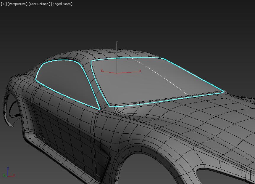Моделирование автомобиля 8