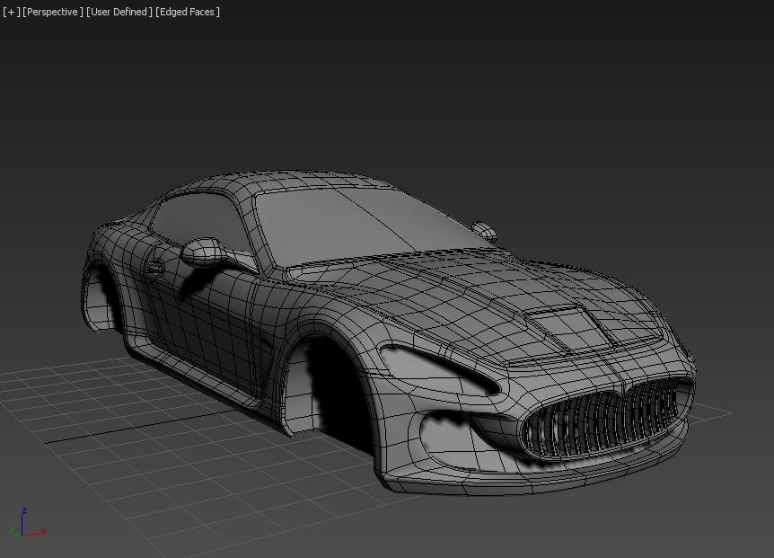 Моделирование автомобиля 9