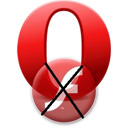 Не работает видео в Opera