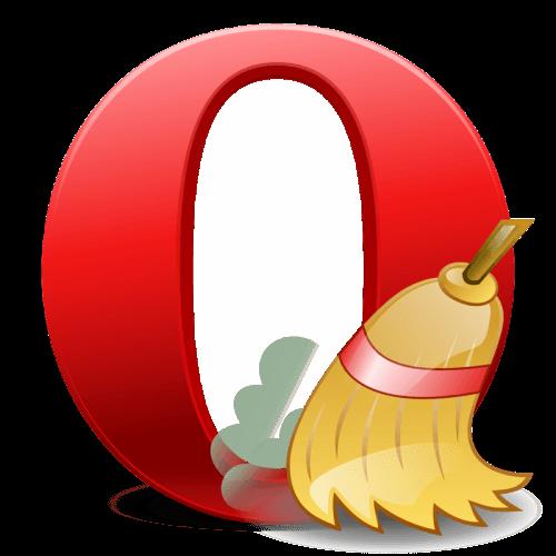 Очистка истории в браузере Opera