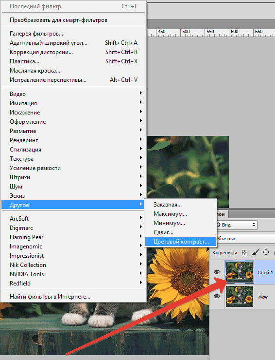 Цветокоррекция в Photoshop