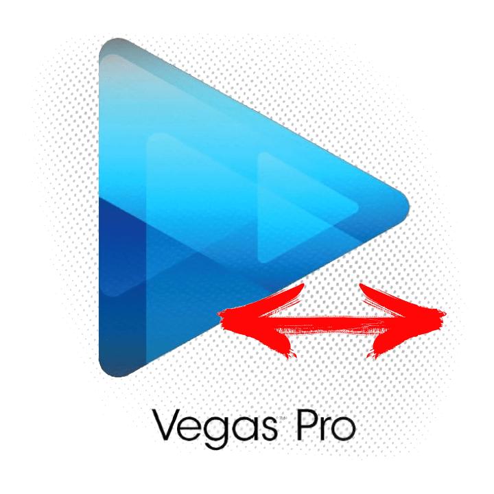 Как растянуть видео в Sony Vegas