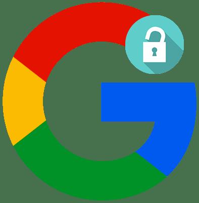 Как выполнить вход в аккаунт Google лого