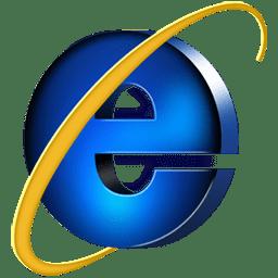 Логотип программы Internet Explorer