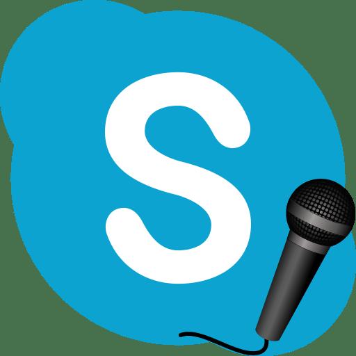 Микрофон в Skype