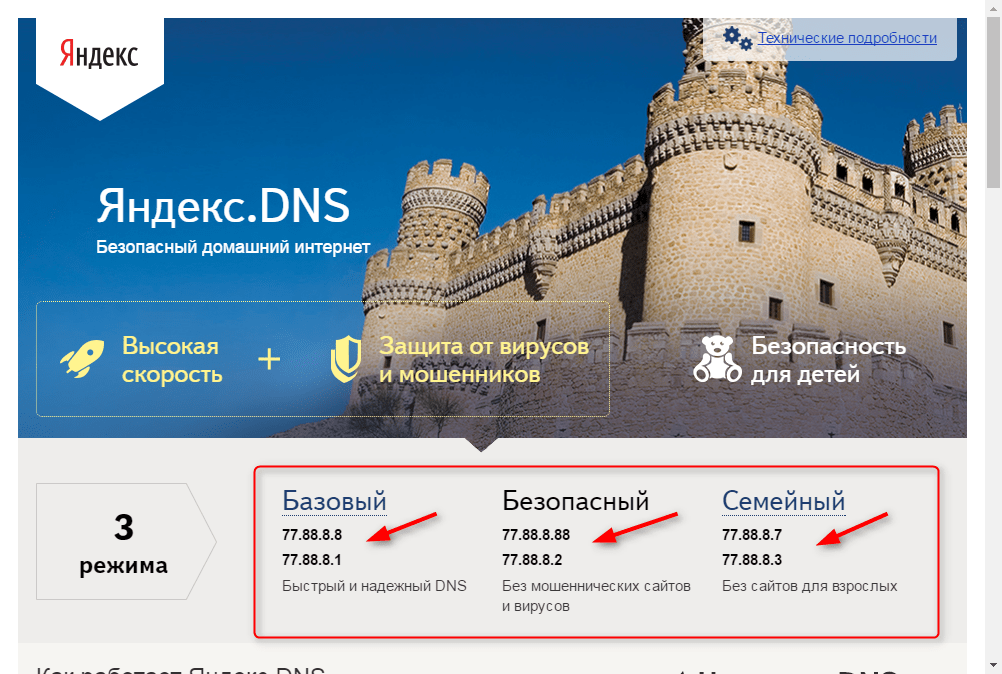 Обзор DNS-сервера Яндекс 4