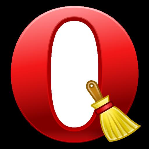 Очистка кэш и куков Opera