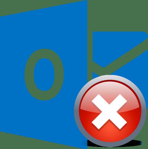 Ошибка в Microsoft Outlook