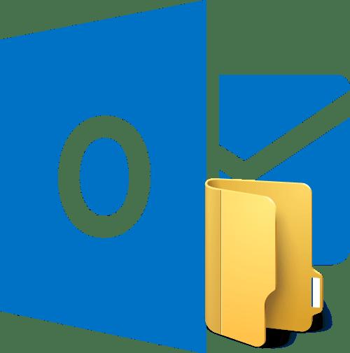 Папка в Microsoft Outlook