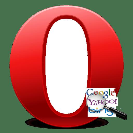 Поисковая система в Opera