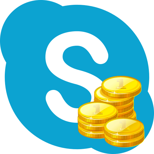 Пополнение счета в Skype