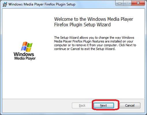 Установка плагина Windows Media Player Plugin в Opera