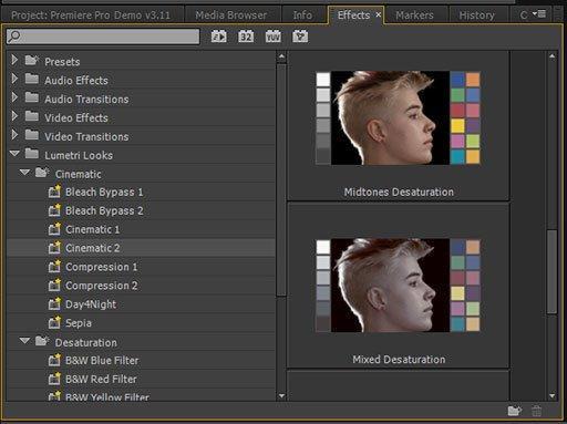 Видеоэффекты в Adobe Premier