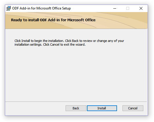 установить Add-in for Microsoft Office Setup