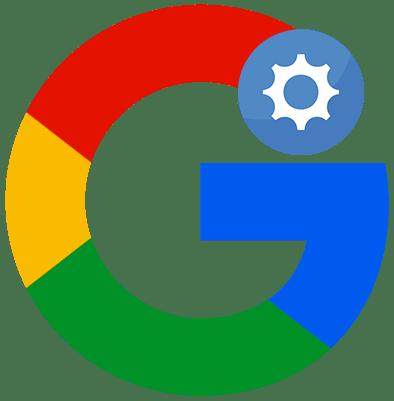 Как настроить аккаунт в Google лого