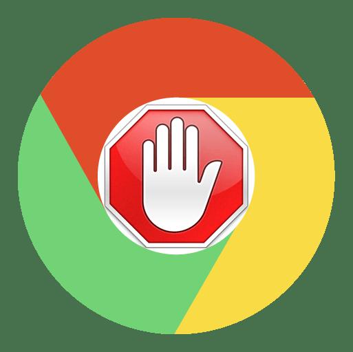 Как выключить  AdBlock в браузере Google Chrome