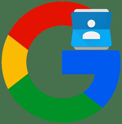 Как посмотреть контакты в Google аккаунте лого