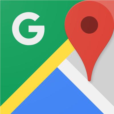 Как проложить маршрут в Google Maps лого