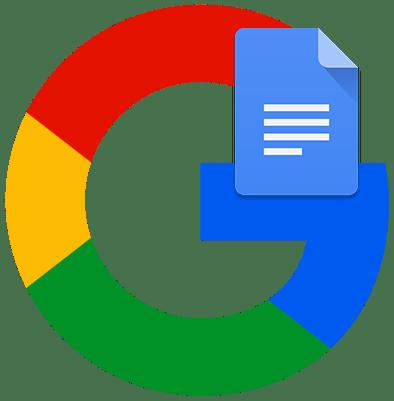 Как создать Google Документ лого