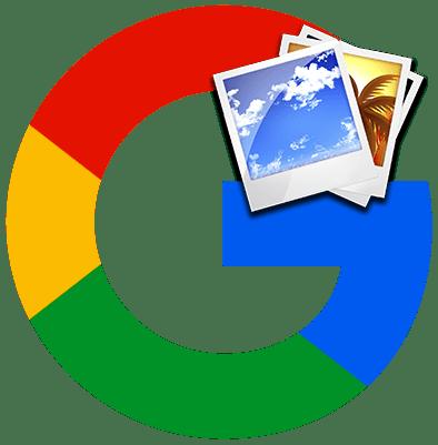 Как выполнить поиск по картинке в Google лого