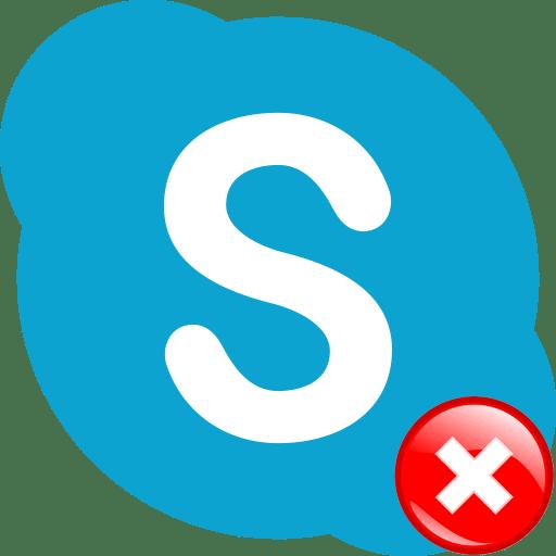 Ошибка программы Skype