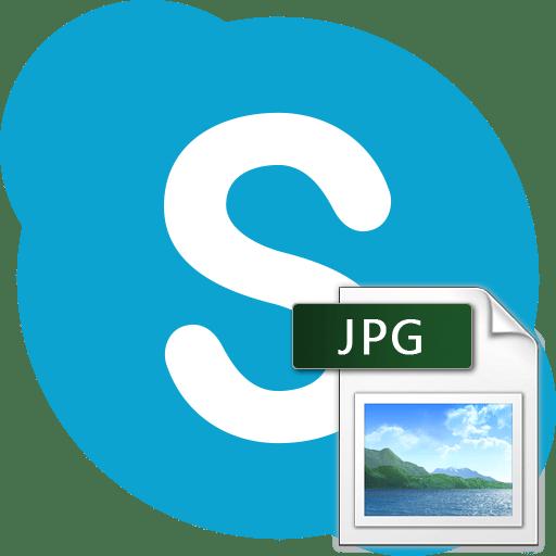 Отправка фото в Skype