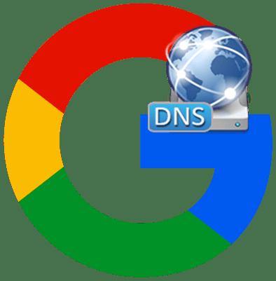 Публичные DNS сервера от Google лого